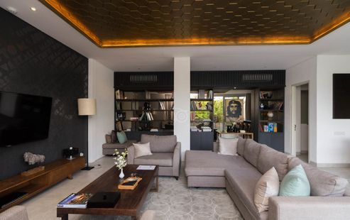 Facilities inside the living room of Seminyak villas you can rent to stay in luxury