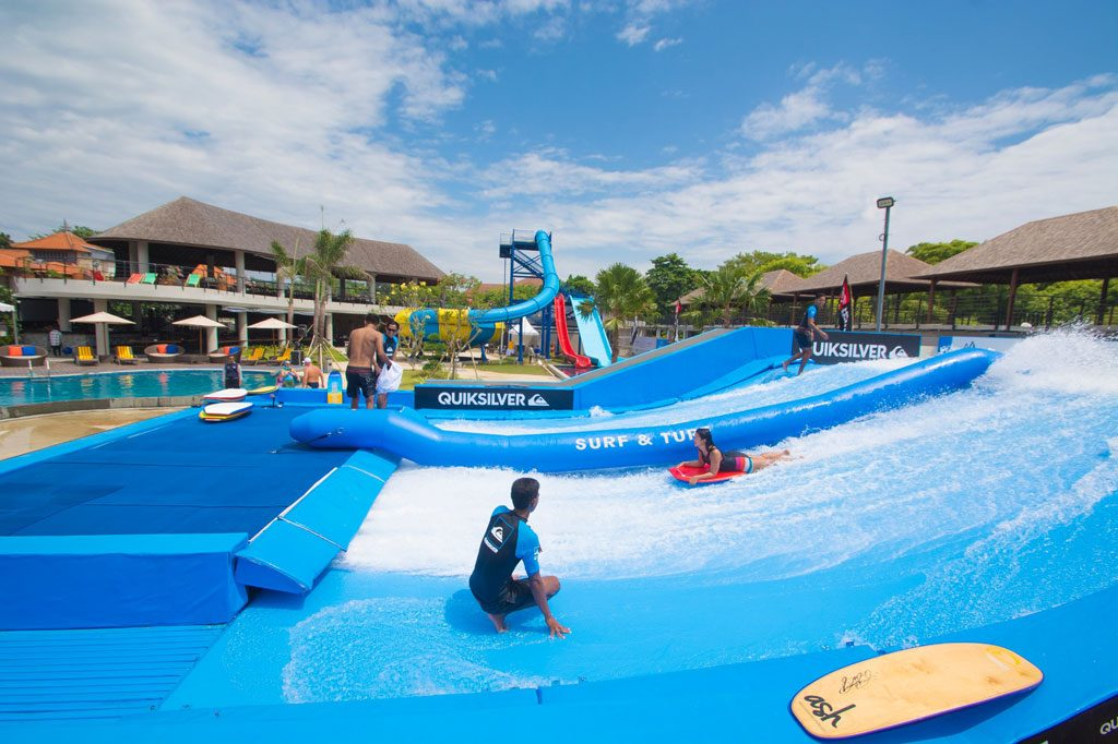 The Surf & Turf Surf Rider while you stay in villa nusa dua bali