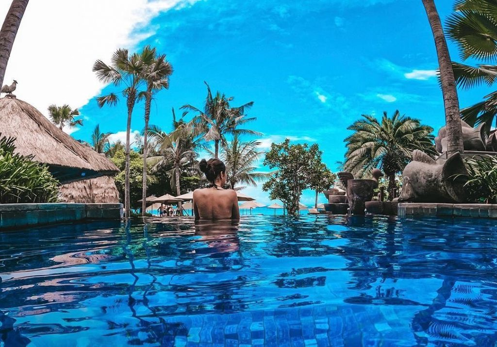 Swim at One of Four Pools at the Nusa Dua Resorts