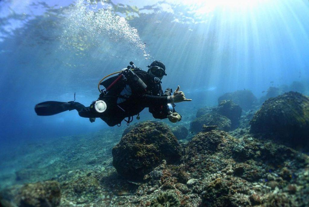 Bali Diving Spots with Drifts: The Crystal Bay Nusa Penida