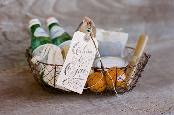 Basket of Welcoming Gifts