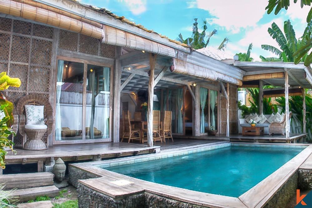 Incorporating Balinese Traditional Architecture to Villa Seminyak